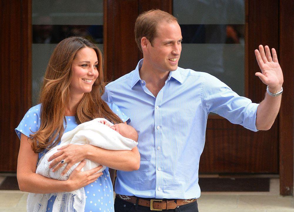 Das-Baby-Kate-William-02-130723-AFP.jpg 1200 x 866 - Bildquelle: AFP