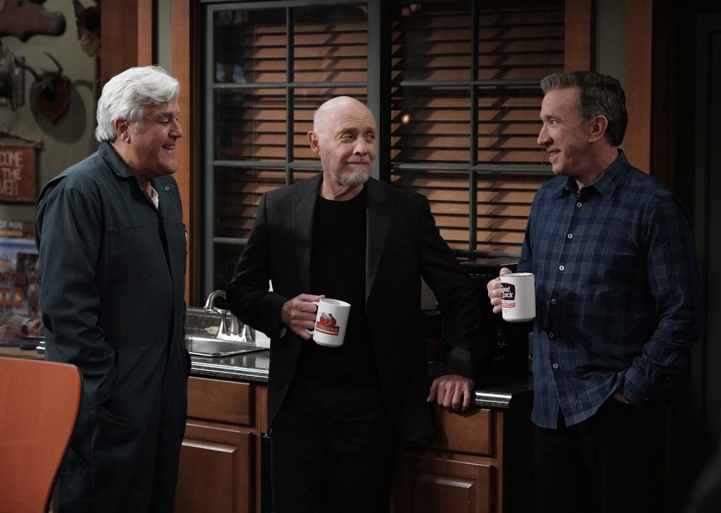 (v.l.n.r.) Joe (Jay Leno); Ed Alzate (Hector Elizondo); Mike Baxter (Tim Allen) - Bildquelle: 2018-2019 Twentieth Century Fox Film Corporation.  All rights reserved