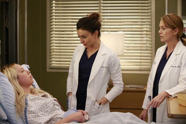 Amelias Patientin war einst Merediths - Bildquelle: ABCstudios
