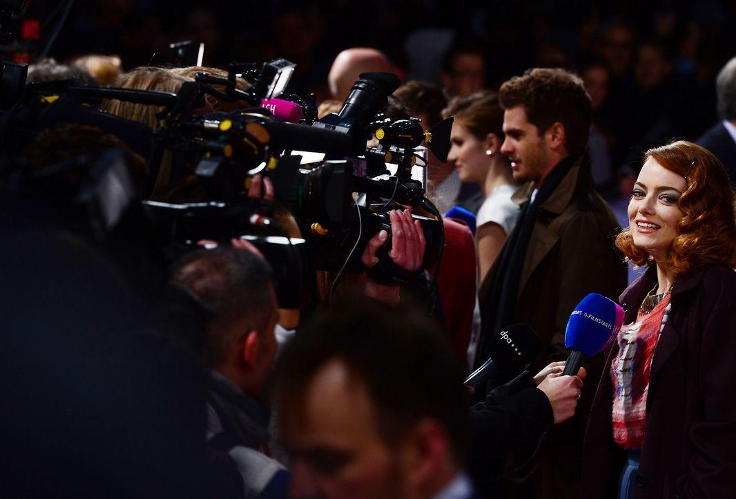 spiderman2-premiere-berlin-Emma-Stone-140415-1-AFP - Bildquelle: AFP