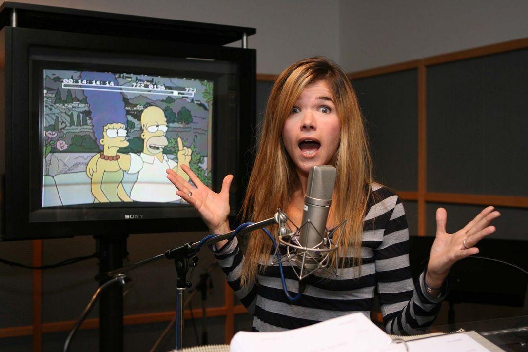 Marge Simpsons neue Stimme Anke Engelke - Bildquelle: ProSieben