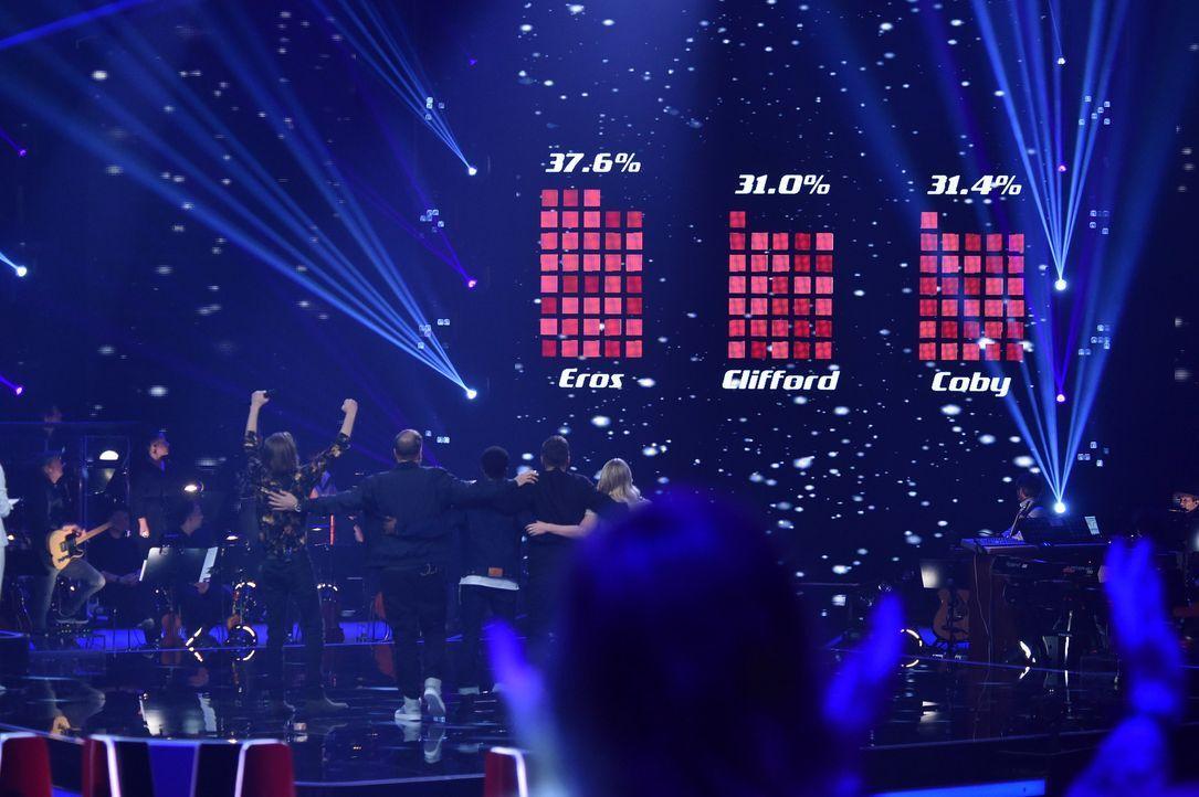 TVOG2018_Halbfinale_Eros,Clifford,Coby - Bildquelle: ProSieben/SAT.1/Andre Kowalski