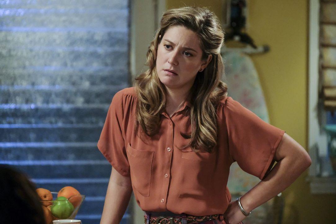 Noch ahnt Mary (Zoe Perry) nicht, dass es möglicherweise nicht die beste Entscheidung ist, Sheldon zur Sonntagsschule zu schicken ... - Bildquelle: Warner Bros.