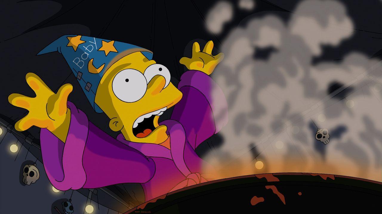 Die Geister, die ich rief: Zauberlehrling Bart Simpson hat mit seinen Voodoo-Experimenten Dinge in Gang gesetzt, die er nicht mehr steuern kann ... - Bildquelle: 2013 Twentieth Century Fox Film Corporation. All rights reserved.
