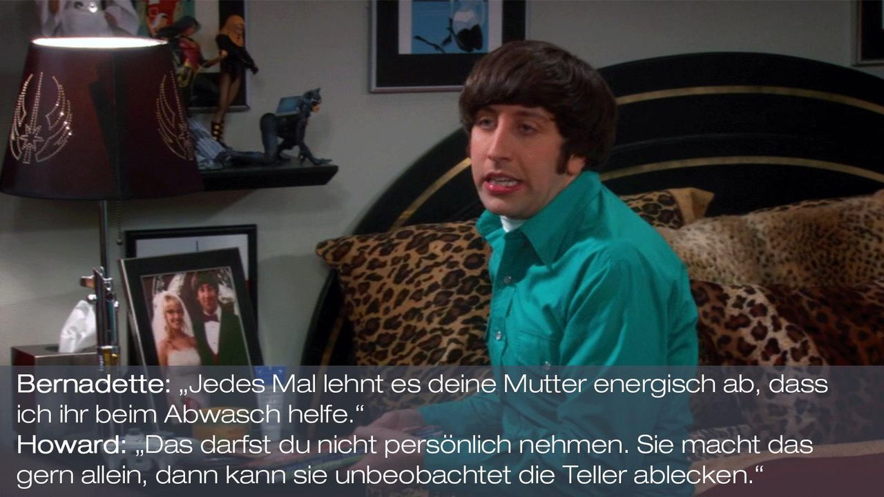 Staffel 6 Folge 7 - Zitat 4 - Bildquelle: Warner Brothers Television