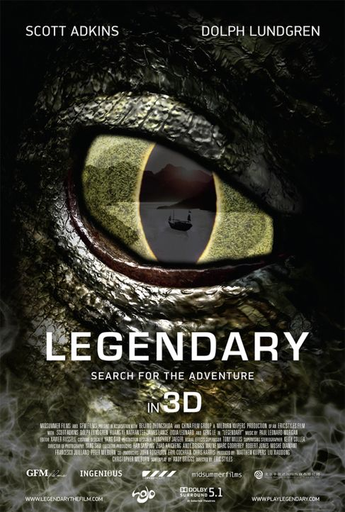 LEGENDARY: TOMB OF THE DRAGON - Plakat