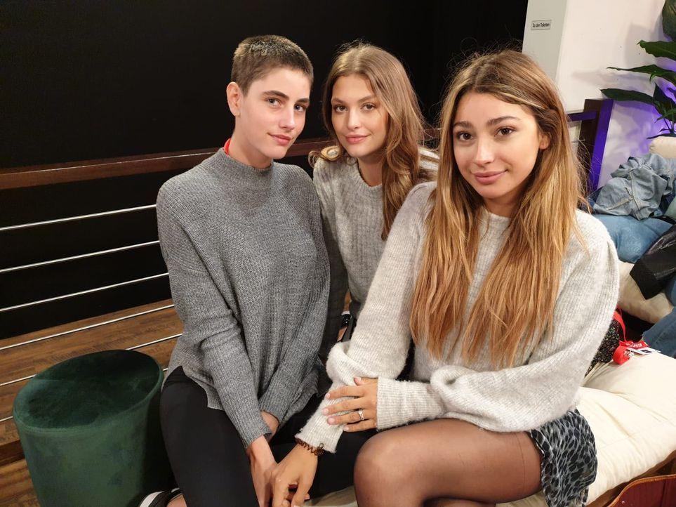 Justine, Alicija und Catharina