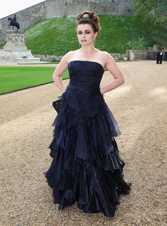 Dinner-Prinz-William-Helena-Bonham-Carter-14-05-13-AFP - Bildquelle: AFP