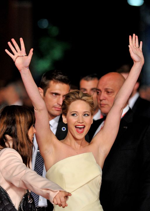 Jennifer-Lawrence-2-Catching-Fire-Premiere-Rom-13-11-14-AFP - Bildquelle: AFP ImageForum