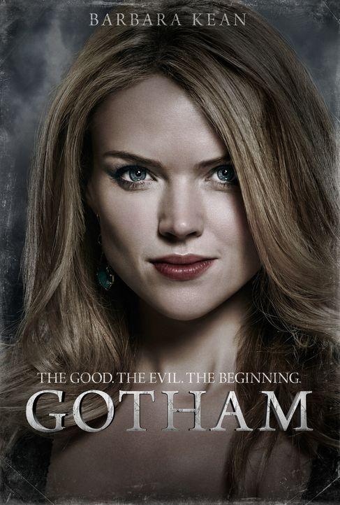 (1. Staffel) - Hat ihre Beziehung zu James Gordon eine Zukunft? Barbara Kean (Erin Richards), eine selbstbewusste und intelligente junge Frau ... - Bildquelle: Warner Bros. Entertainment, Inc.