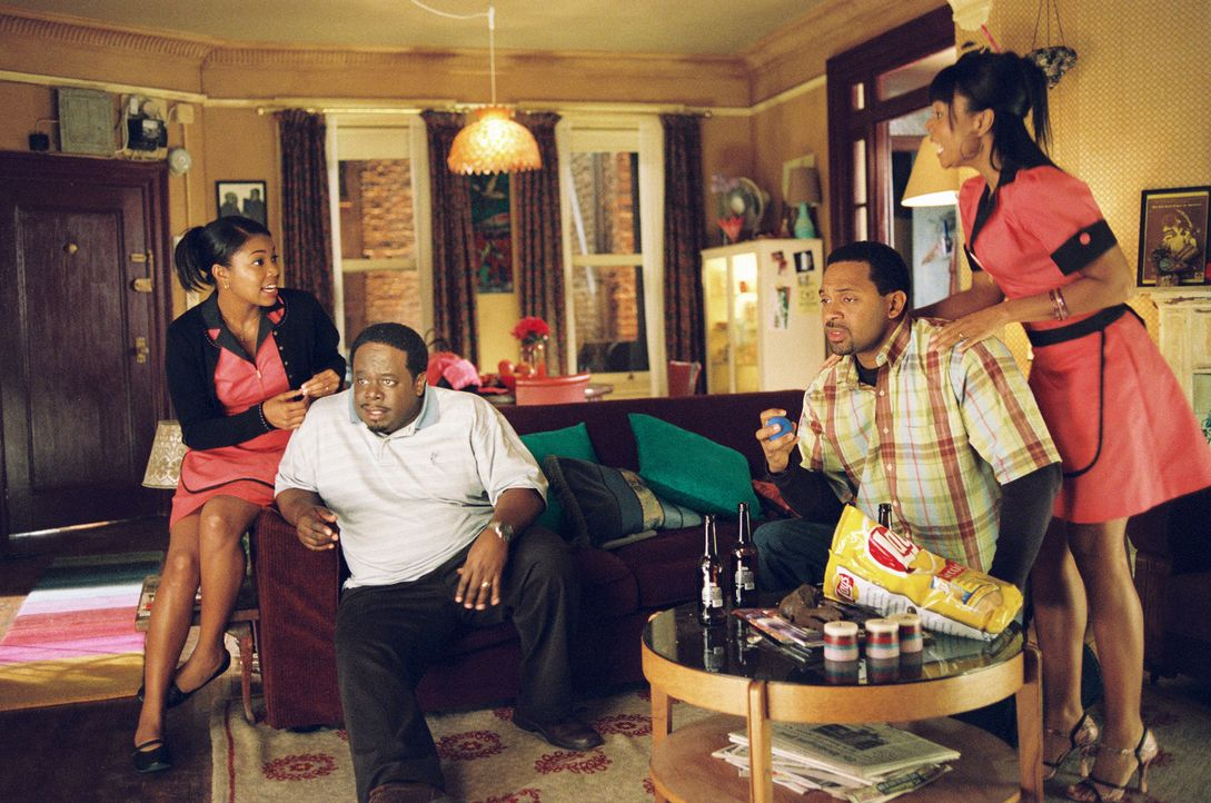 "Der erfolgreiche Ralph (Cedric ""the Entertainer"", 2.v.l.) plant, zusammen mit seiner Frau Alice (Gabrielle Union, l.) und dem befreundeten Ehepaar E... - Bildquelle: TM &   2006 Paramount Pictures. All Rights Reserved."