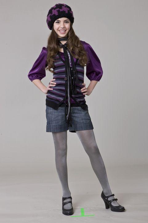 Alicia (Samantha Boscarino) ist nicht dazu bereit, Klamotten ohne Markennamen zu tragen ... - Bildquelle: 2008 Warner Bros.