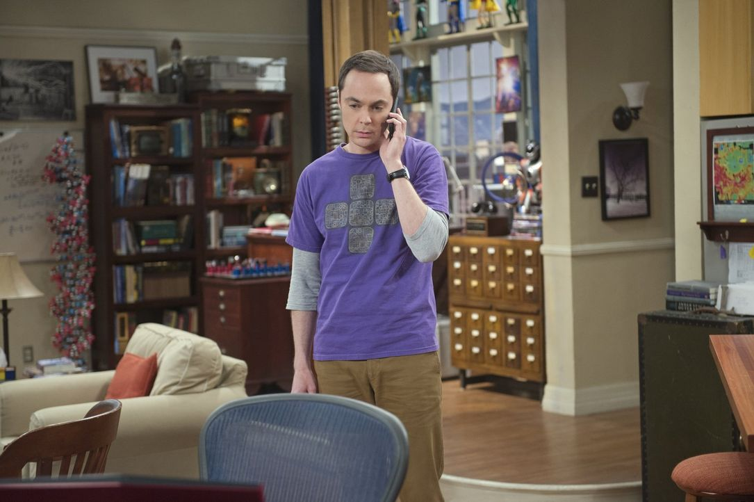 Nachdem Amy eine Beziehungspause verhängt hat, muss Sheldon (Jim Parsons) feststellen, dass er damit schlechter umgehen kann als gedacht ... - Bildquelle: Warner Brothers