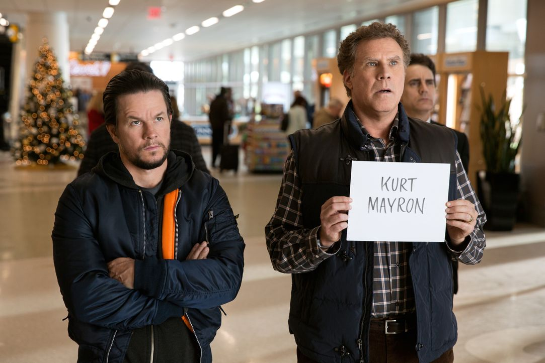 Dusty (Mark Wahlberg, l.); Brad (Will Ferrell, r.) - Bildquelle: Claire Folger 2018 Paramount Pictures / Claire Folger