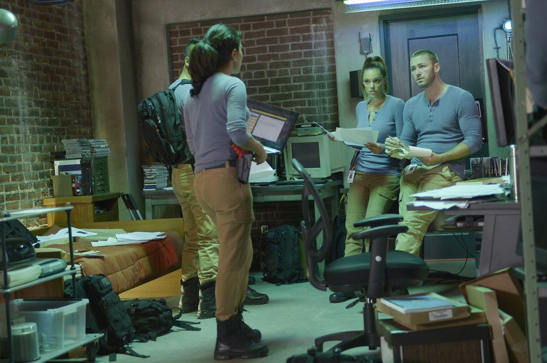Die Rekruten sind mit der Suche nach einer Nadel im Heuhaufen beschäftigt, während sie zeitgleich auf mögliche Gefahren für die nationale Sicherheit... - Bildquelle: 2015 ABC Studios