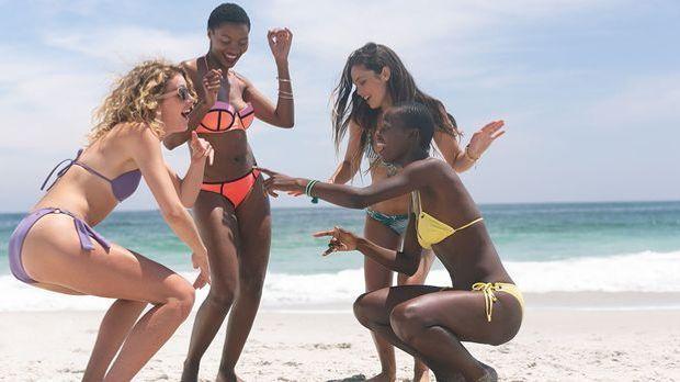 Beach Party mit mineralischem Sonnenschutz ohne weiße Rückstände – wir haben...