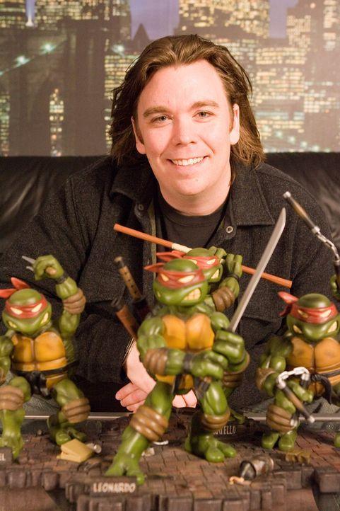 Kevin Munroe, Regisseur des voll computeranimierten Kinofilms ?Teenage Mutant Ninja Turtles?. - Bildquelle: TOBIS Filmkunst GmbH