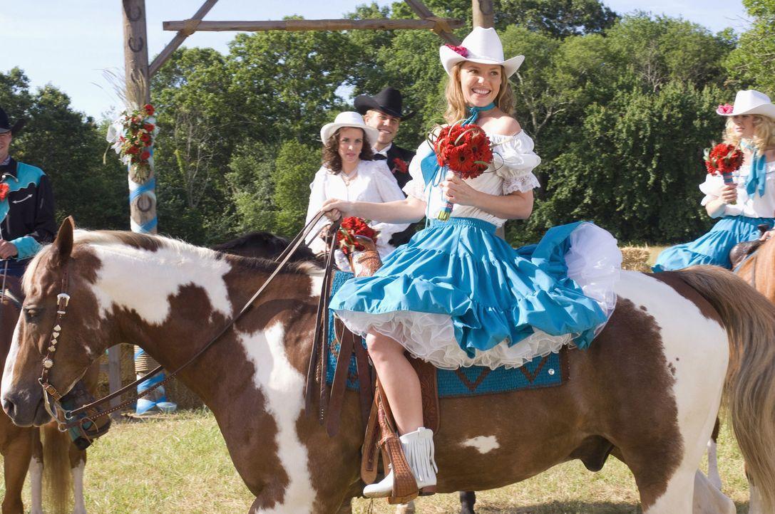 Umso verrückter die Hochzeit, desto lustiger die Feier - doch leider ist auch diese nicht Janes (Katherine Heigl, M.) eigene Hochzeit ... - Bildquelle: Twentieth Century Fox Film Corporation