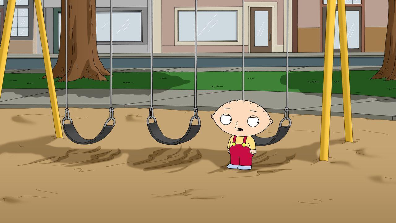 Ist verzweifelt, als er von Peter im Park vergessen wird: Stewie ... - Bildquelle: 2014 Twentieth Century Fox Film Corporation. All rights reserved.