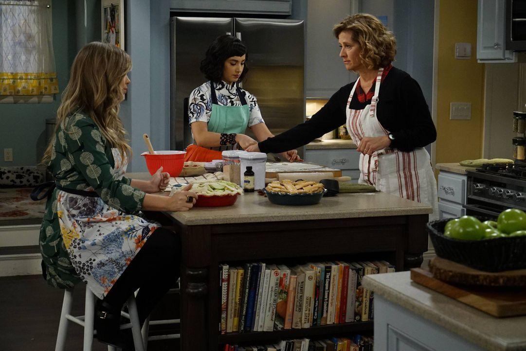 (v.l.n.r.) Kristin Baxter (Amanda Fuller); Mandy Baxter (Molly Ephraim); Vanessa (Nancy Travis) - Bildquelle: 2015-2016 American Broadcasting Companies. All rights reserved.