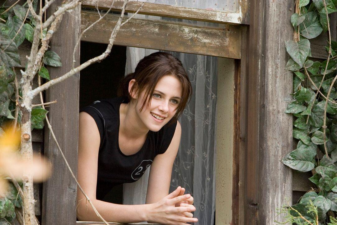 Als ihre Eltern von Chicago ins Hinterland von North Dakota umziehen, ist Jess (Kristen Stewart) ziemlich unglücklich. Ohne Freunde und Handyempfang... - Bildquelle: 2005 GHP-3 SCARECROW, LLC.