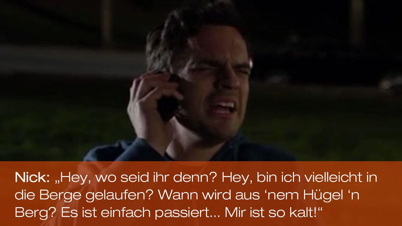 New Girl - Zitate - Staffel 1 Folge 18 - Nick (Jake Johnson) 1600 x 900 - Bildquelle: 20th Century Fox
