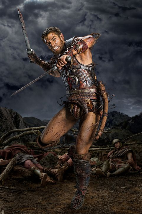 Seit der Ermordung seiner Frau sinnt Spartacus (Liam McIntyre) nur noch auf Rache. Inzwischen ist seine Truppe entflohener Sklaven zu einer Armee he... - Bildquelle: 2012 Starz Entertainment, LLC. All rights reserved.