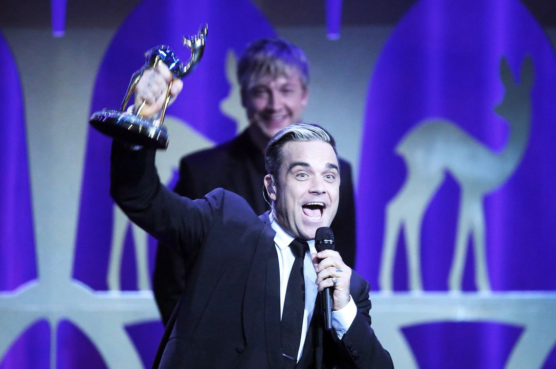 Bambi-Robbie-Williams-13-11-14-dpa - Bildquelle: dpa