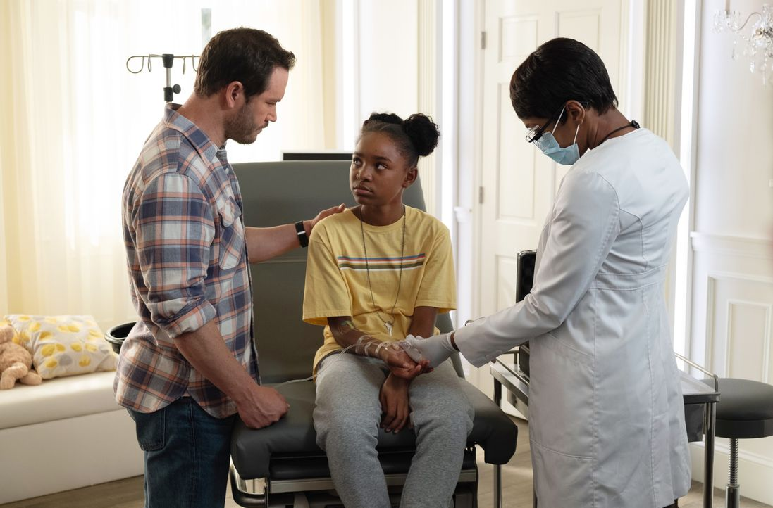(v.l.n.r.) Brad Wolgast (Mark-Paul Gosselaar); Amy Bellafonte (Saniyya Sidney); Dr. Major Nichole Sykes (Caroline Chikezie) - Bildquelle: Erika Doss 2019 Fox and its related entities. All rights reserved. / Erika Doss