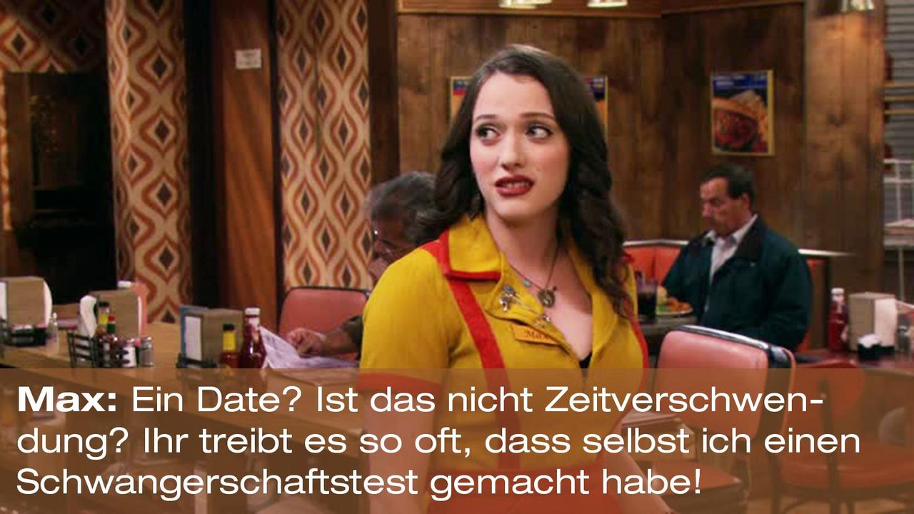 2-broke-girls-zitat-staffel2-episode2-kostbarer-pokal-max-date-warnerpng 1600 x 900 - Bildquelle: Warner Brothers Entertainment Inc.