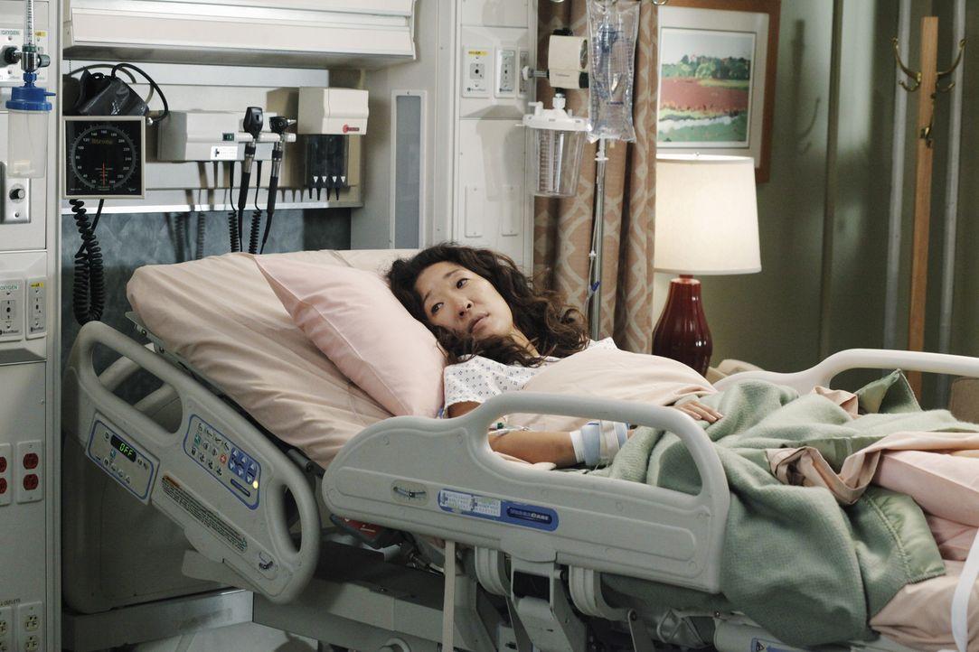 Rückblick: Nach alldem was sie erlebt hat, spricht Christina (Sandra Oh) mit niemanden mehr. Ihre Freunde und Kollegen machen sich große Sorgen um... - Bildquelle: ABC Studios