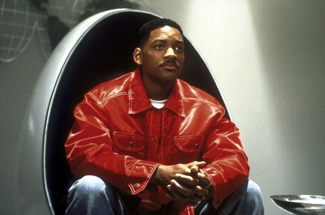 Immer einen lockeren Spruch parat: Agent J (Will Smith) ... - Bildquelle: Columbia TriStar