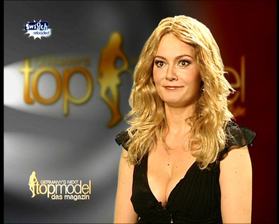 """""""Germany's Next Topmodel"""" mit Heidi Klum (Martina Hill) ... - Bildquelle: ProSieben"""