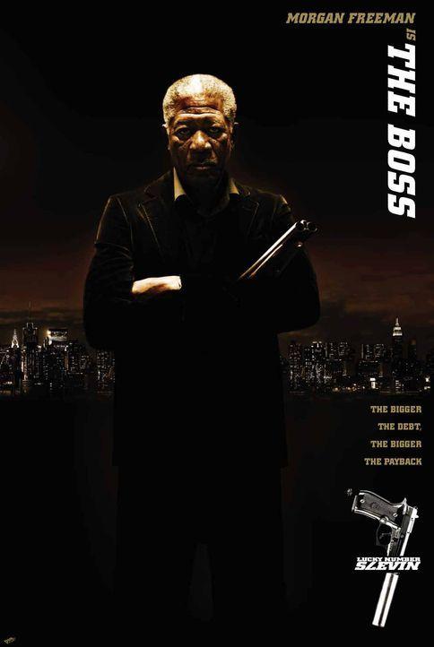 Lucky Number Slevin - mit Morgan Freeman - Bildquelle: Metro-Goldwyn-Mayer (MGM)