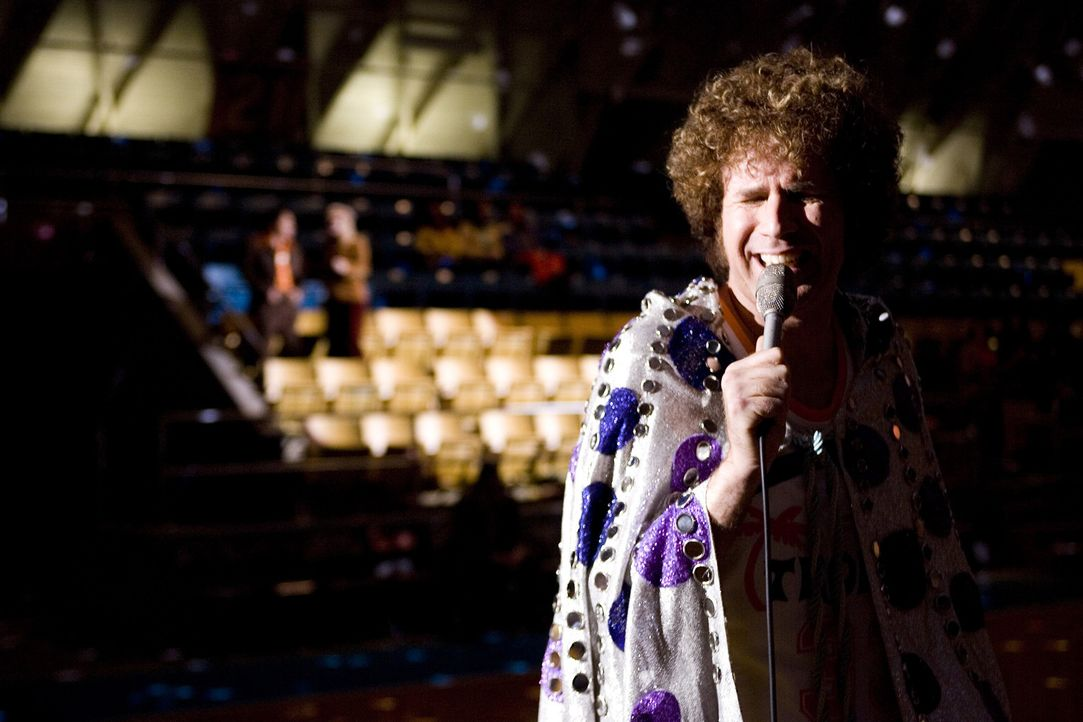 Ist fest davon überzeugt, dass er nicht nur der sexiest Sänger, sondern auch der beste Basketballtrainer der Welt: Jackie Moon (Will Ferrell) ... - Bildquelle: 2008 Warner Brothers