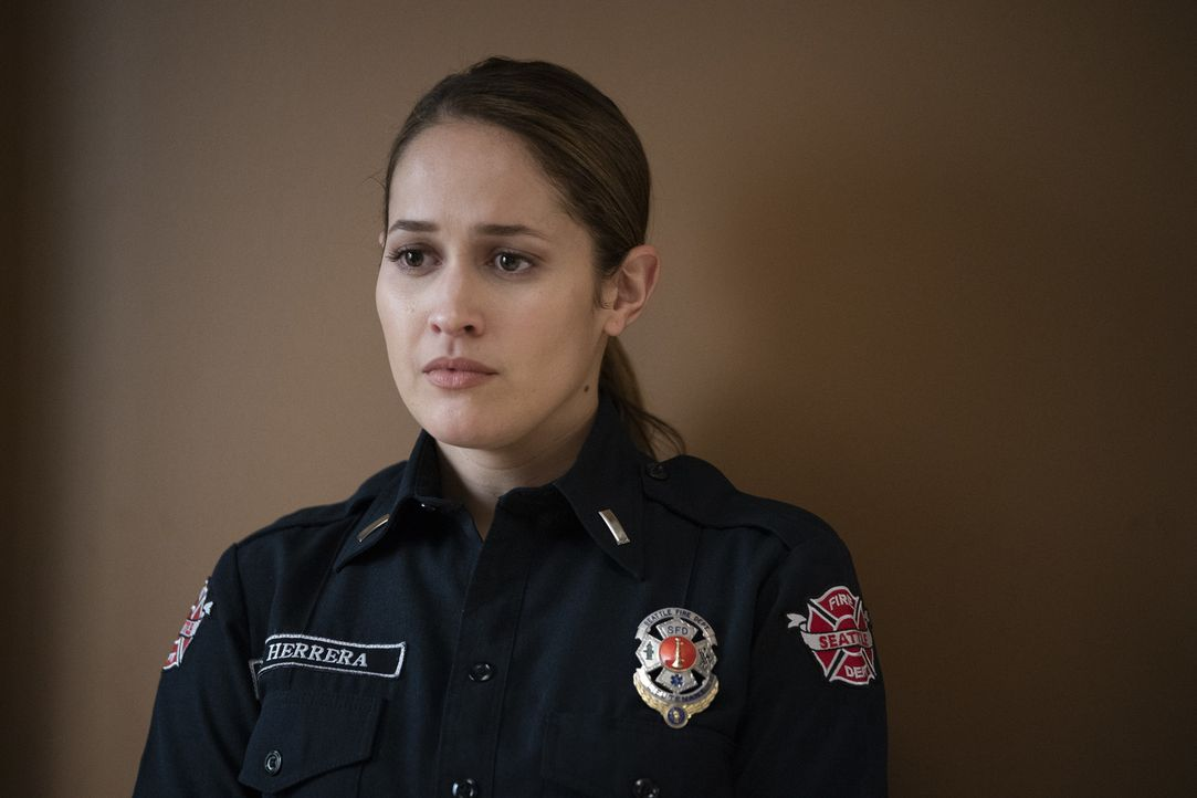 Andy Herrera (Jaina Lee Ortiz) - Bildquelle: Eric McCandless 2019 American Broadcasting Companies, Inc. All rights reserved.