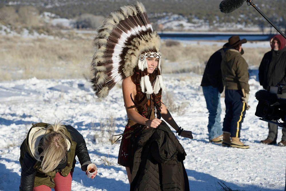 GNTM-Stf09-Epi08-Indianer-Shooting-27-ProSieben-Oliver-S - Bildquelle: ProSieben/Oliver S.