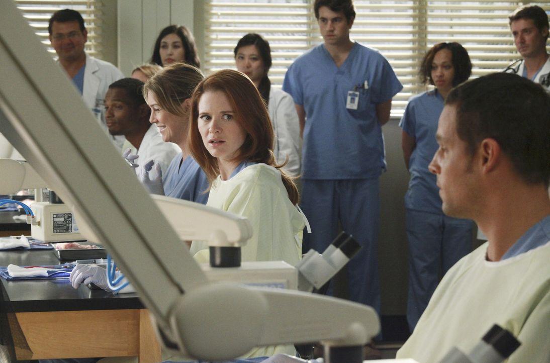Als Catherine Avery, Jacksons Mutter, ins Seattle Grace/Mercy West kommt, um eine Transplantation durchzuführen, geben die Assistenzärzte ihr Best... - Bildquelle: ABC Studios