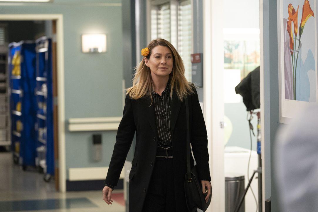 Dr. Meredith Grey (Ellen Pompeo) - Bildquelle: Mitch Haaseth ABC Studios/Mitch Haaseth