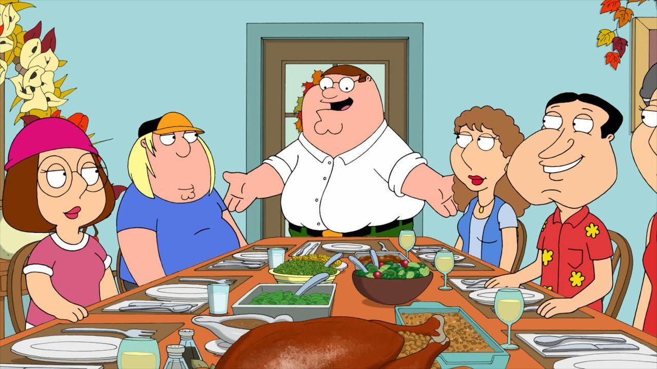 Die Griffins wollen mit der Familie und Freunden Thanksgiving feiern ... - Bildquelle: 2011 Twentieth Century Fox Film Corporation. All rights reserved.