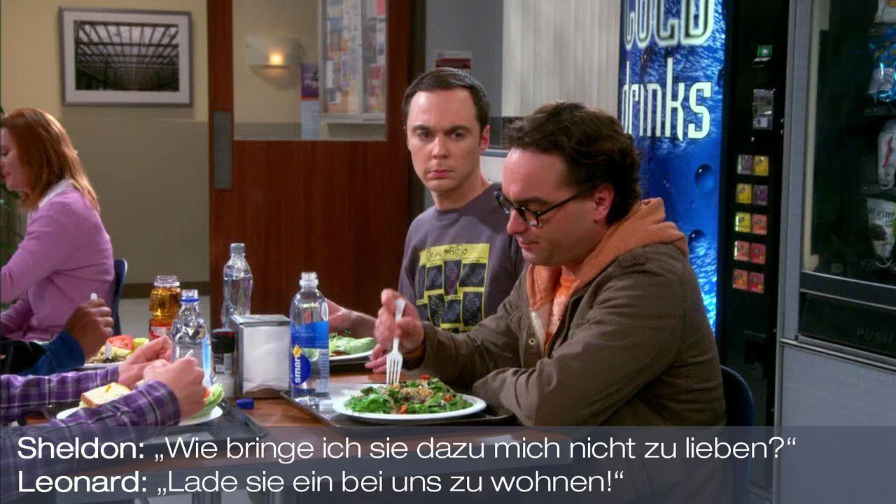 Staffel 7 Folge 6 - Zitat 10 - Bildquelle: Warner Bros. Television