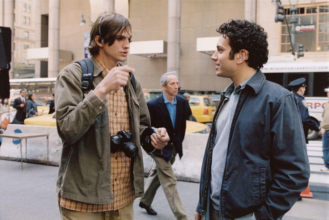 Die beiden Brüder Oliver (Ashton Kutcher, l.) und Graham Martin (Ty Giordano, r.) führen ein geregeltes Leben. Eines Tages jedoch lernt Oliver ein... - Bildquelle: Touchstone Pictures. All rights reserved