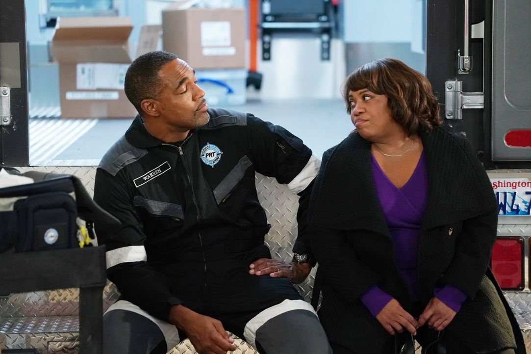 Ben Warren (Jason George, l.); Dr. Miranda Bailey (Chandra Wilson, r.) - Bildquelle: Richard Cartwright 2019 American Broadcasting Companies, Inc. All rights reserved. / Richard Cartwright