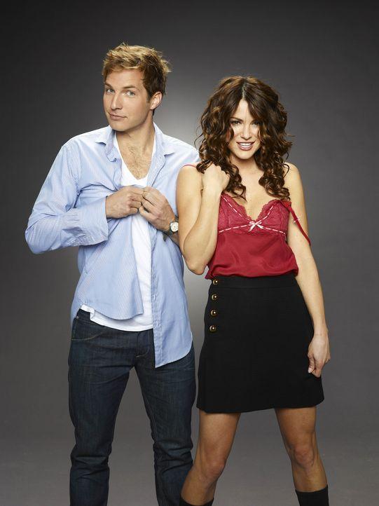 (1. Staffel) - Pflegen eine ganz besondere Freundschaft: Ben (Ryan Hansen, l.) und Sara (Danneel Ackles, r.) ... - Bildquelle: Mitchell Haaseth NBC Universal, Inc.