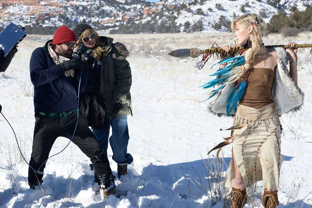 GNTM-Stf09-Epi08-Indianer-Shooting-12-ProSieben-Oliver-S - Bildquelle: ProSieben/Oliver S.