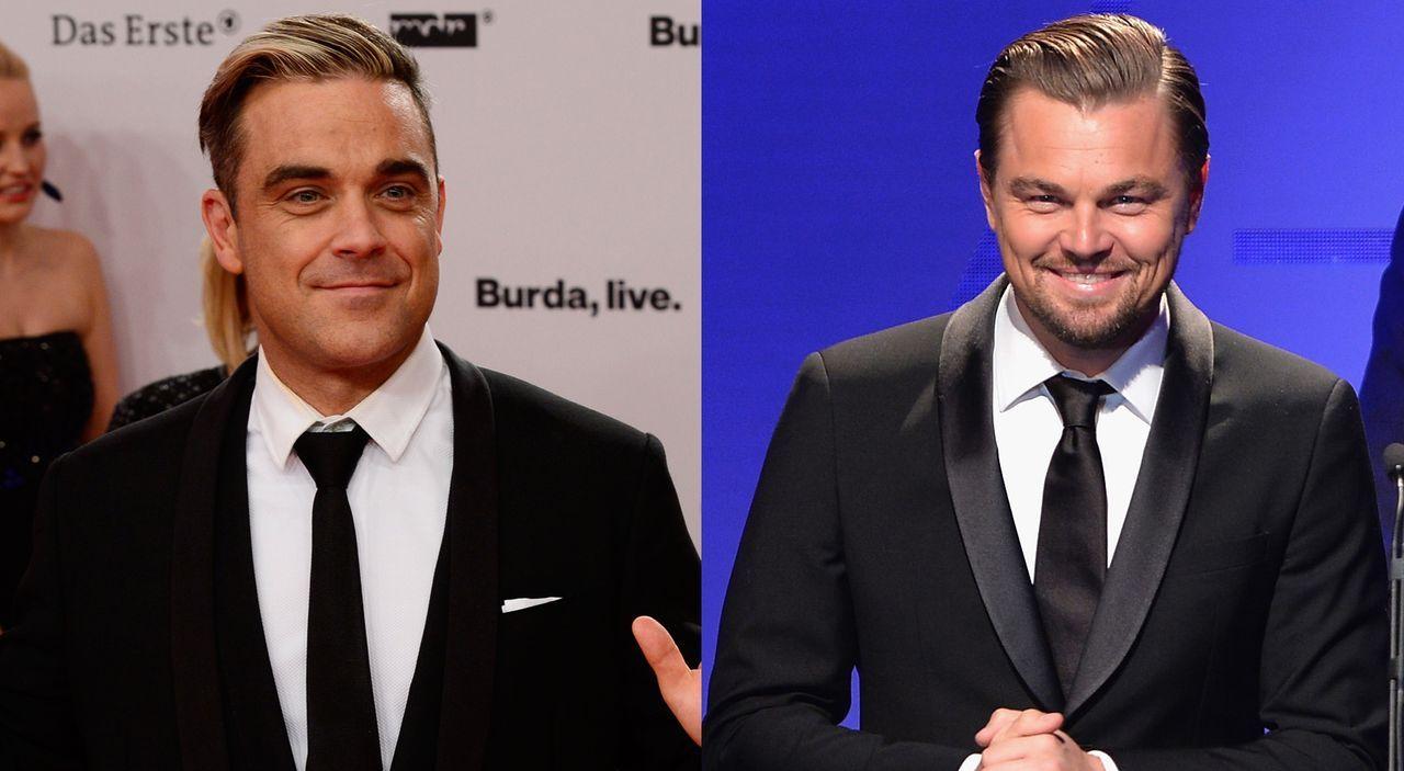 Robbie-Williams-13-11-14-AFP-Leonardo-DiCaprio-14-02-08-AFP - Bildquelle: AFP