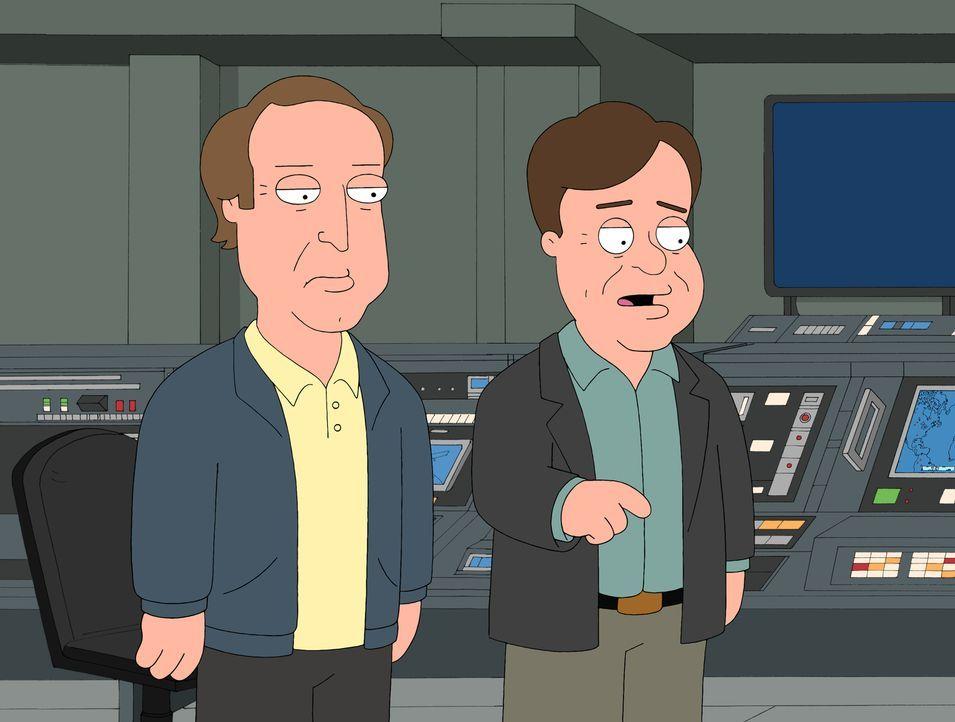 Dan Aykroyd (r.) und Chevy Chase (l.) ziehen nach Cleveland in die Nachbarschaft der Griffins ... - Bildquelle: 2007-2008 Twentieth Century Fox Film Corporation. All rights reserved.