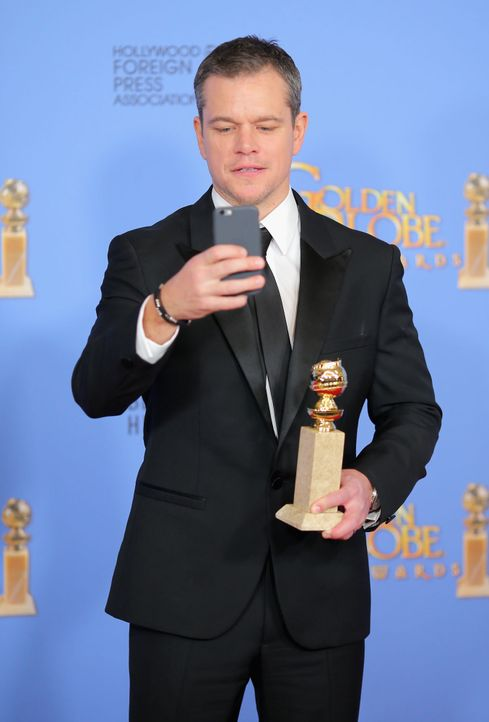 GG-Gewinner-160110-Matt-Damon-getty-AFP - Bildquelle: getty-AFP