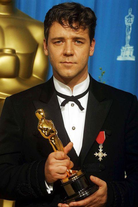 Bester-Hauptdarsteller-2001-Russell-Crowe-AFP - Bildquelle: AFP