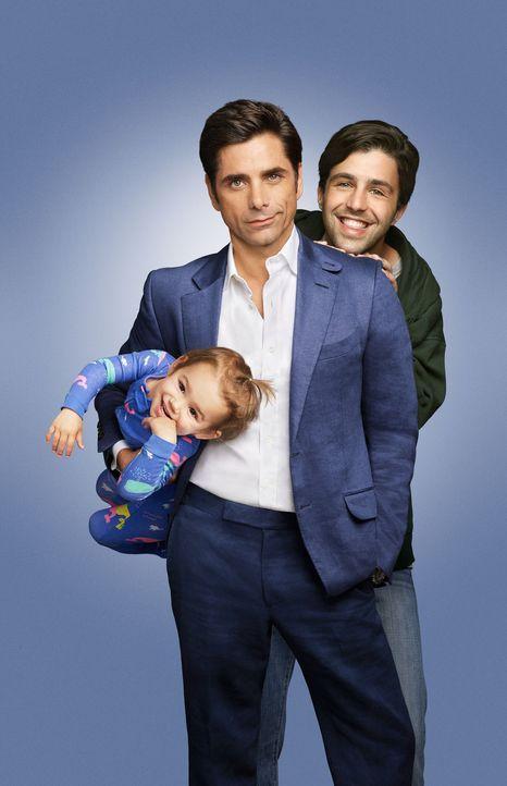(1. Staffel) - Der Restaurantbesitzer und Womanizer Jimmy Martino (John Stamos, r.) muss sein Leben komplett umkrempeln, als der junge Gerald (Josh... - Bildquelle: ABC Studios